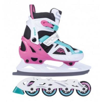 Spokey Avian Girls Duo Inline/Ice Skates
