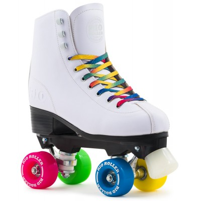Rio Roller Figure Quad Skates - White