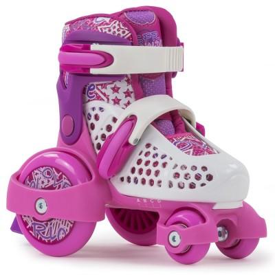 SFR Stomper Kids Skates - Pink/White