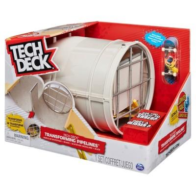 Tech Deck Transforming Pipelines, Modular Skatepark - 1 Pack