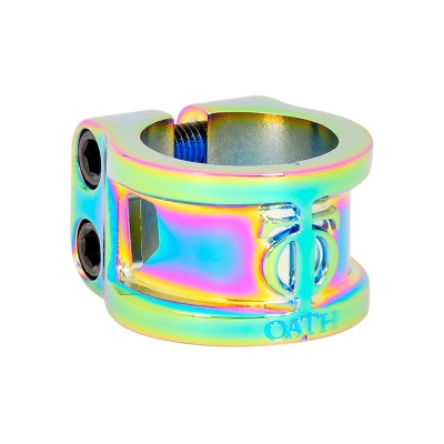 Oath Cage 2 Bolt Scooter Clamp - Neochrome