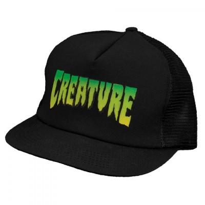 Creature Mesh Cap Creature Logo -Black