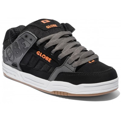 Globe Tilt - Black/Charcoal/Orange - Shoes