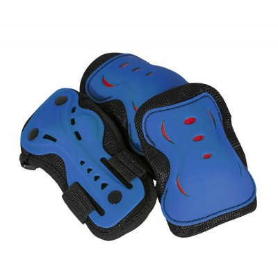 AC760 Triple Pad Skate Set Blue