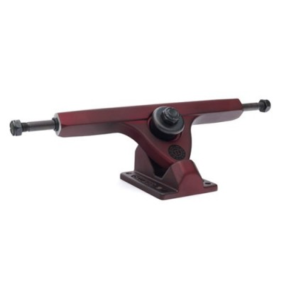"Caliber II Fifty 10"" Midnight Longboard Trucks - Satin Red"