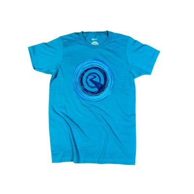 River Wheels Tee - Turquoise