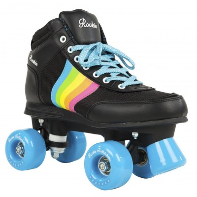 Rookie Quad Skates Forever Rainbow Black/Multi
