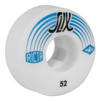 Ricta Skateboard Wheels SLIX White/Blue 52mm