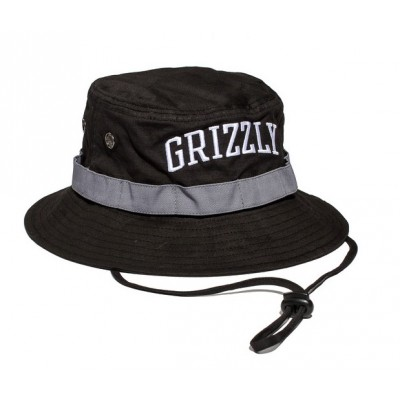 Grizzly Nortwest Safari Hat -  Black