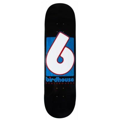 "Birdhouse Pro Skateboard Team Deck B Logo  8"" - Black"
