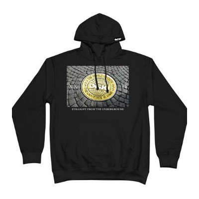 DGK Ground Up Fleece Hoodie - Black