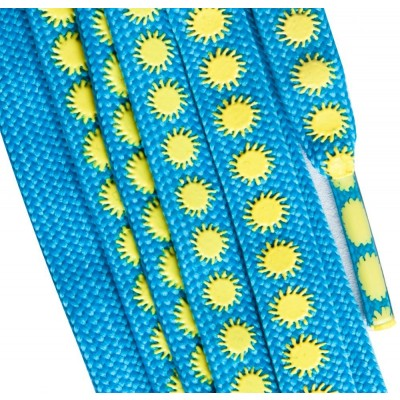 Suregrip Laces Slip-Not  - Sun Blue/Yellow 180cm