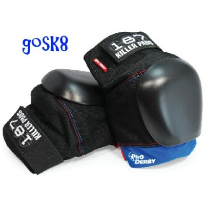 187 Pro Derby Knee Limited Edition Black/Blue/Red