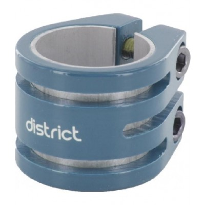 District Double Lightweight Scooter Collar Clamp V2