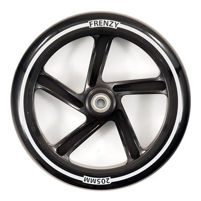 Frenzy Scooter Wheel Black