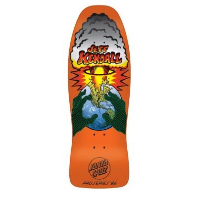 Santa Cruz Deck Kendall End of the World Fluorescent Orange 10 IN