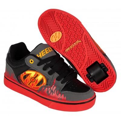 Heelys Motion Plus Grey/Black/Flames 770815