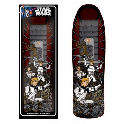 "Santa Cruz x Star Wars Skateboard Deck Trash Compactor - 8.375"""