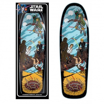 Santa Cruz x Star Wars Collector's Edition Skateboard Deck Pit Scene