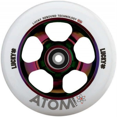 Lucky Atom 110mm Scooter Wheel - Neochrome
