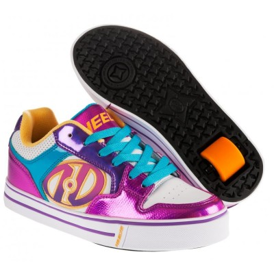 Heelys Motion White/Fuschia/Multi 770325H Skate Shoes
