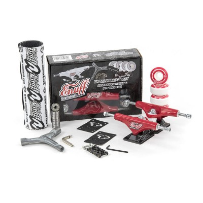 Enuff Decade Pro Undercarriage Truck Set - Red/Black