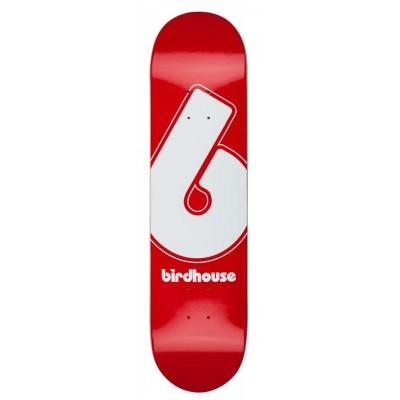 "Birdhouse Giant B Logo Skateboard Deck Red - 8"""