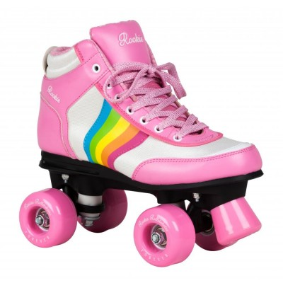 Rookie Forever Rainbow V2 Roller Skates - Pink/Multi