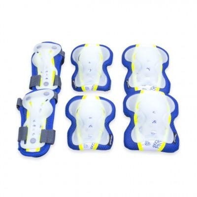 Spokey Sentinel Glow In The Dark Kids Triple Set - Blue/Yellow