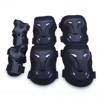 Spokey Kids Triple Pad Set - Black