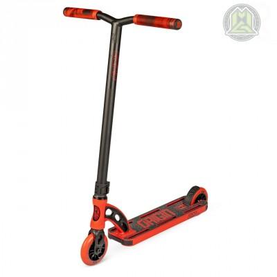 """MGP VX Origin Shredder PRO 4.5"""" Scooter - Red/ Black"""