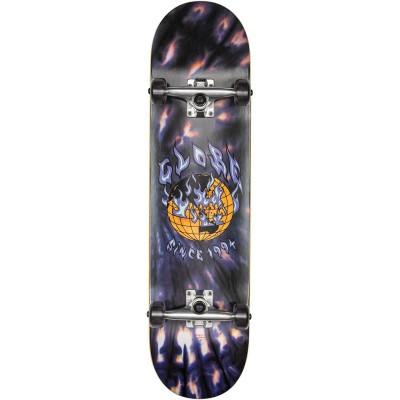 "Globe G1 Ablaze Black Dye Complete Skateboard - 8"""
