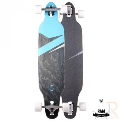 "RAM Lokz Longboard 8.75"" - Marina Blue"