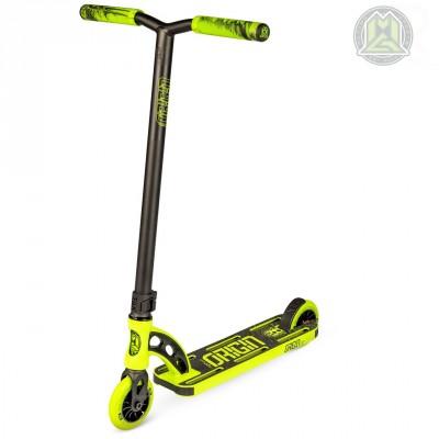 """MGP VX Origin Shredder PRO 4.5"""" Scooter - Lime/ Black"""