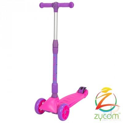 Zycom Zinger 3 Wheel Kids Scooter - Pink/Purple