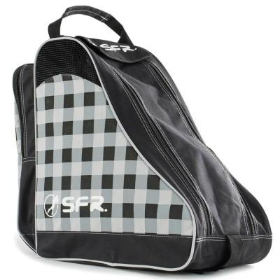 SFR Designer Ice & Skate Bag - Black Chequered