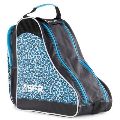SFR Designer Ice & Skate Bag - Blue Leopard