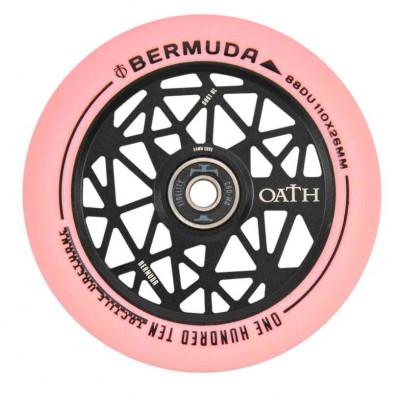 Oath Bermuda Scooter Wheel - Black/Pink