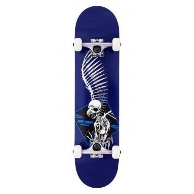"""Birdhouse Stage 1 Full Skull 2 Complete Skateboard Blue 7.5"""""""