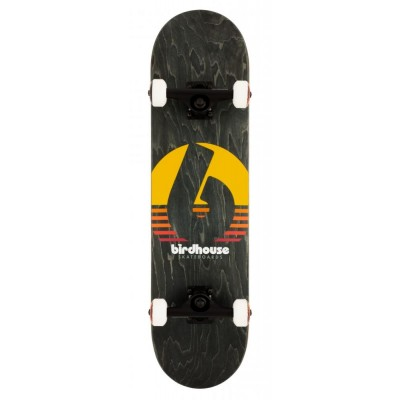 "Birdhouse Stage 3 Sunset Complete Skateboard Black 8"""