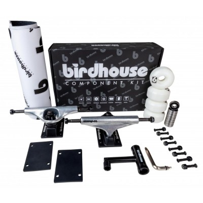 Birdhouse Component Kit - Silver/Black