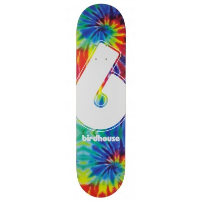 Birdhouse Giant BLogo Skateboard deck Tie Dye - Multi 8""