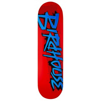 Birdhouse Splatter Logo Skateboard Deck - Red 8.25""