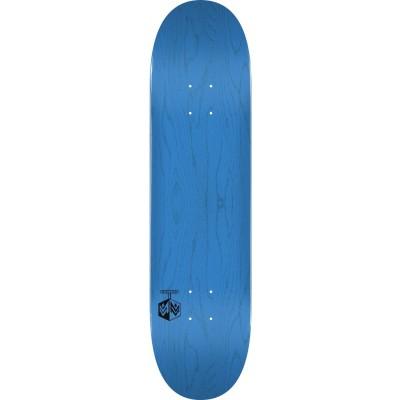 "Mini Logo Chevron Detonator Skateboard  Deck 8"" - Blue"