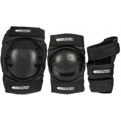 Bullet Combo Deluxe Adult Triple Pad Set - Black