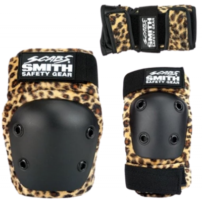 Smith Scabs Youth Triple Set - Leopard
