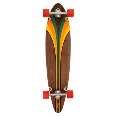 "D Street Pintail Malibu Longboard - Multi 40"""