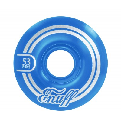 Enuff Refresher II Skateboard Wheels 53mm blue