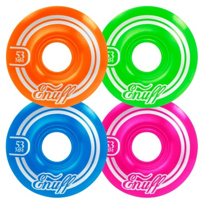 Enuff Refresher II Skateboard Wheels 53mm Disco