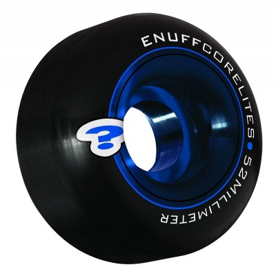 Enuff Corelites 52mm Skateboard Wheels - Black